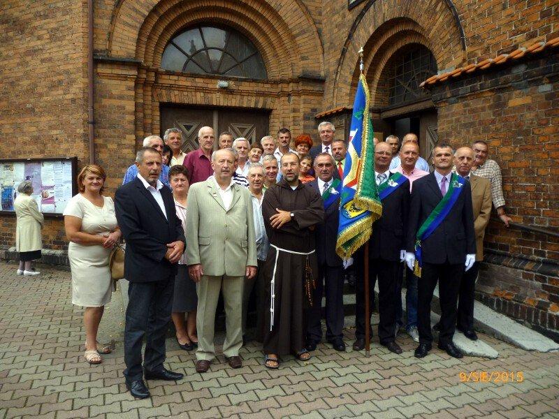 Fotorelacja z święcenia sztandaru oddziału Nowa Sól